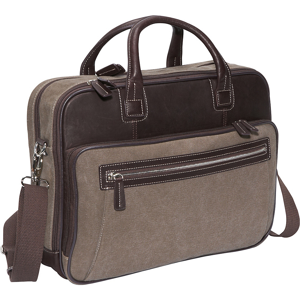 Bellino Autumn Scan Express Computer Case Brown - Bellino Non-Wheeled Business Cases