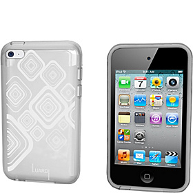TPU Pattern Case for iPod Touch White