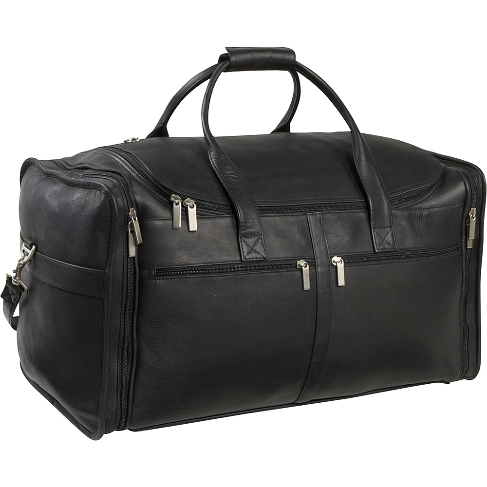 Le Donne Leather Classic Cabin Duffel - Black - Duffels, Travel Duffels