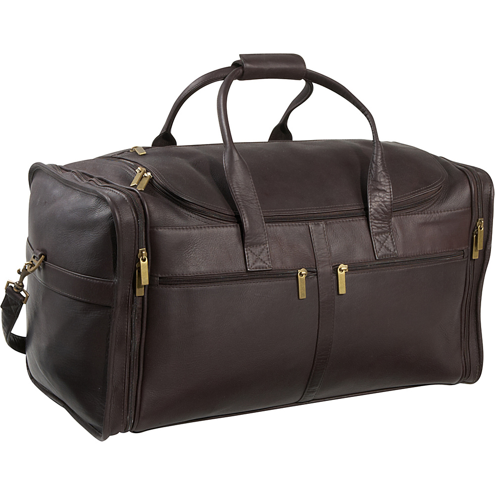 Le Donne Leather Classic Cabin Duffel - Caf - Duffels, Travel Duffels