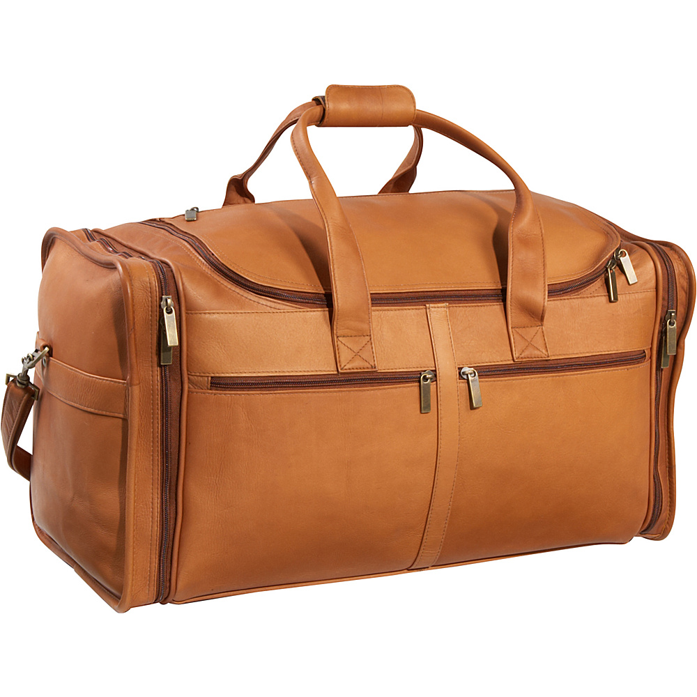 Le Donne Leather Classic Cabin Duffel - Tan - Duffels, Travel Duffels