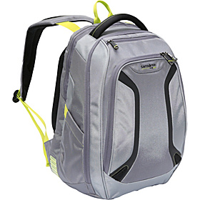 VizAir™ Laptop Backpack Gunmetal/Volt Green