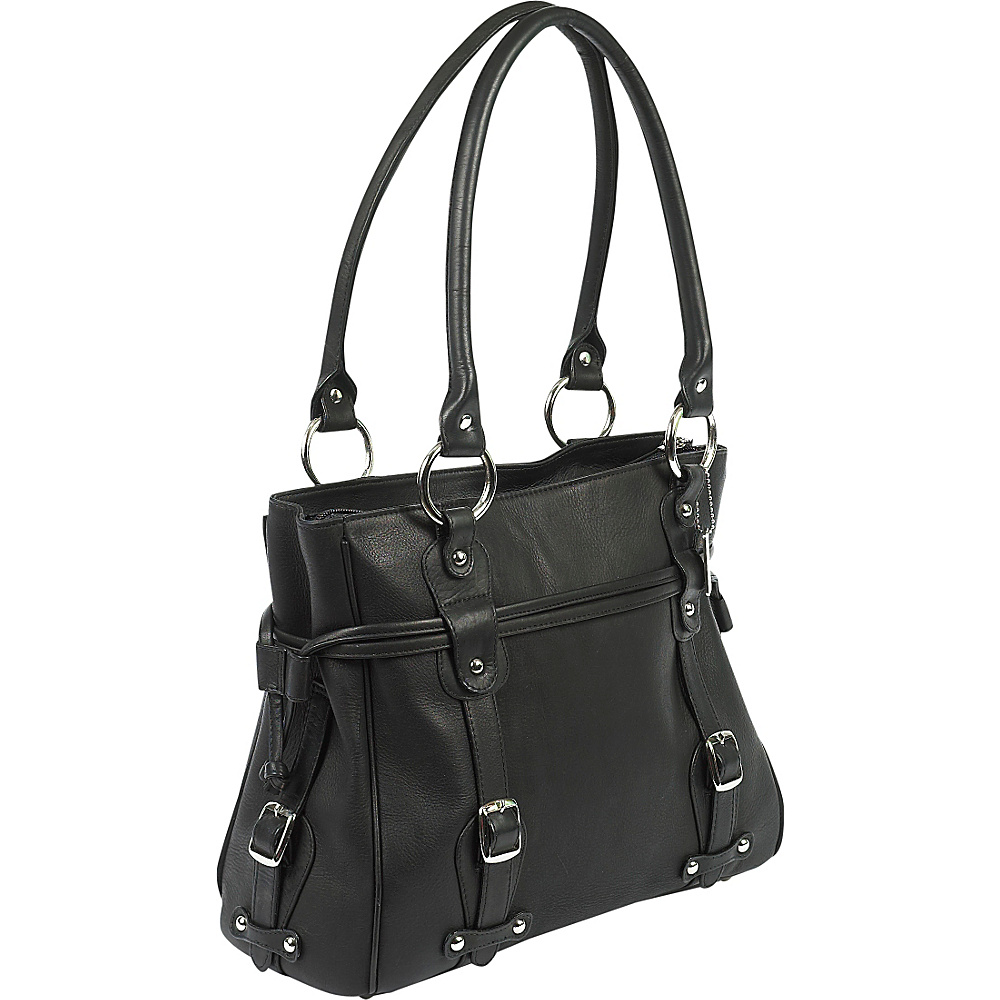 ClaireChase Valentina Handbag - Black - Work Bags & Briefcases, Women's Business Bags