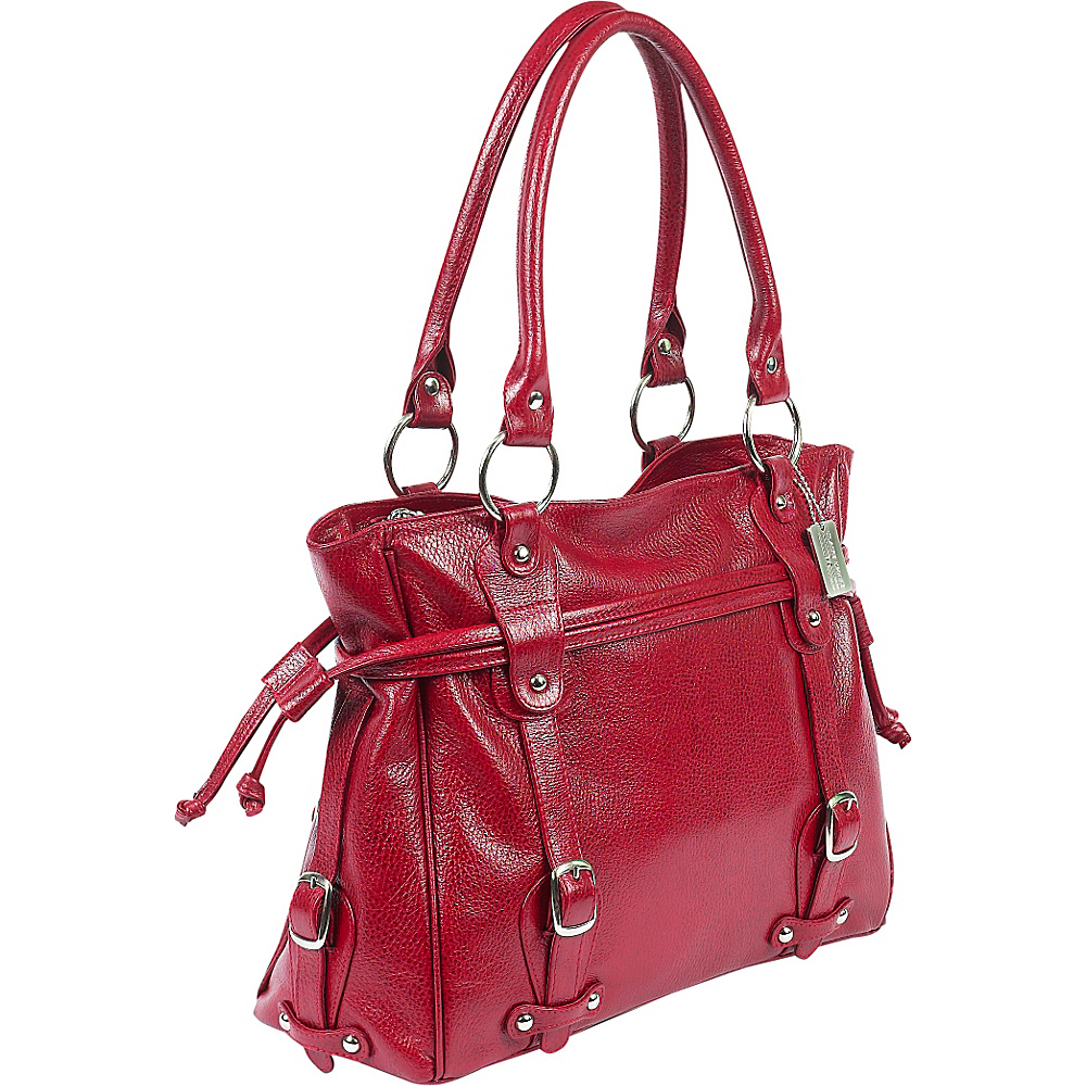 ClaireChase Valentina Handbag - Red - Work Bags & Briefcases, Women's Business Bags