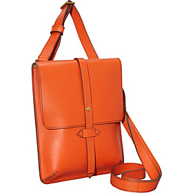 Chambers Flap Tab Cross-Body Orange