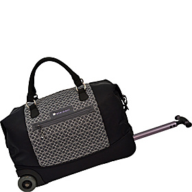 Trip Wheeled Duffel Pewter/ Black