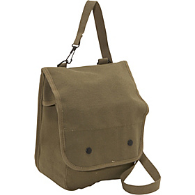 Canvas Map Case Olive