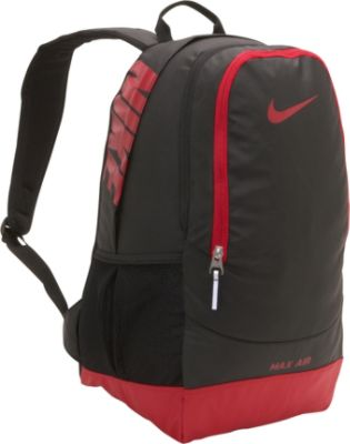 nike max air team training large backpack - gym red 12