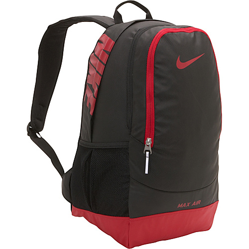 424674034a35c2 Nike Team Training Max Air Large Backpack Black/gym Red/(gym Red) – Nike  School & Day Hiking Backpacks