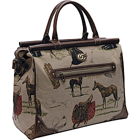 Pony Up Dowel Bag Tapestry