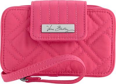 Vera Bradley Smartphone Wristlet - Solids Geranium - Vera Bradley Ladies Wallet on a String