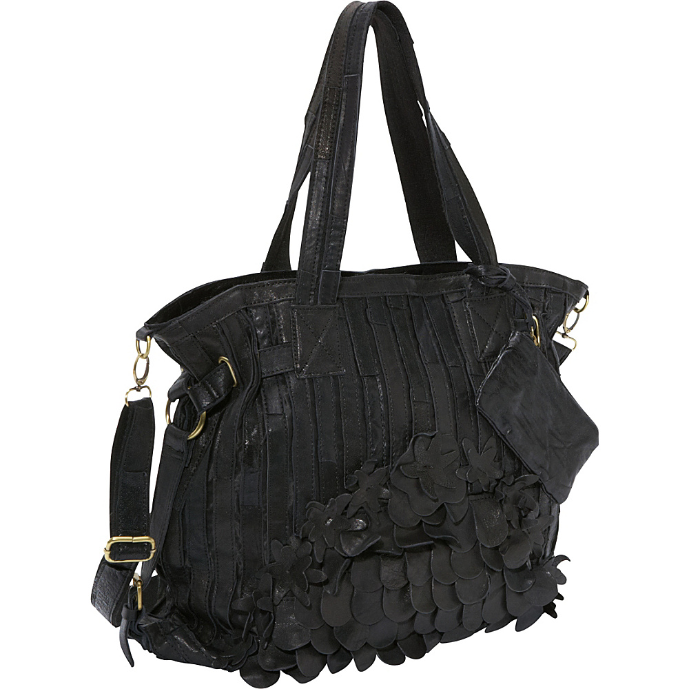 AmeriLeather Brook Leather Tote Bag Black - AmeriLeather Gym Bags - Sports, Gym Bags
