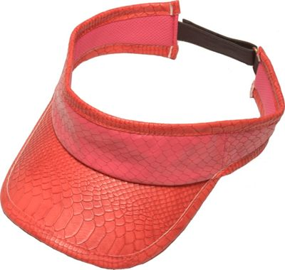 Glove It Signature Collection Velcro Visor Pink Snake - Glove It Sports Accessories