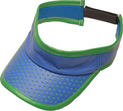 Glove It Signature Collection Velcro Visor Blue/Green Perf - Glove It Sports Accessories