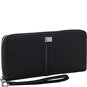 Village Travel Clutch Black