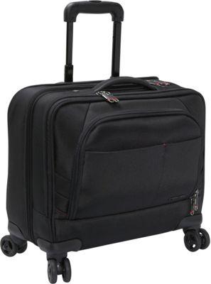 Samsonite Xenon 2 Spinner Mobile Office - PFT Black - Samsonite Wheeled Business Cases