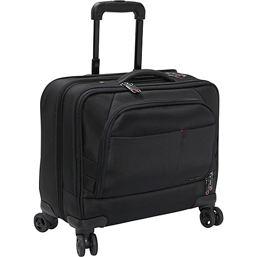 Samsonite Xenon 2 Spinner Mobile Office - PFT Black - Samsonite Wheeled Business Cases