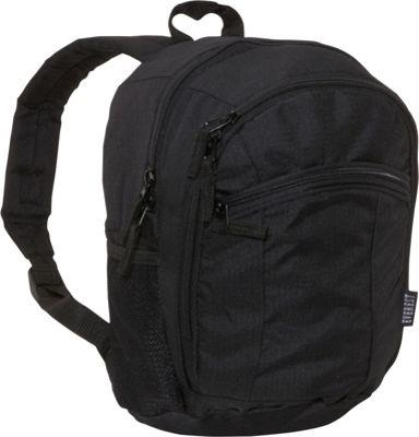 Everest Deluxe Junior Kids Backpack Black - Everest Everyday Backpacks