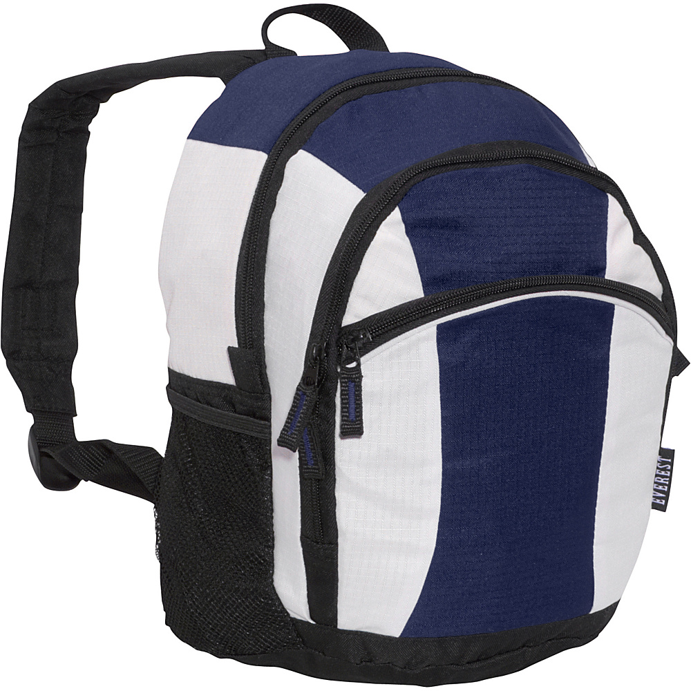 Everest Deluxe Junior Kids Backpack Navy/Beige/Black - Everest Everyday Backpacks - Backpacks, Everyday Backpacks