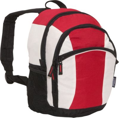 Everest Deluxe Junior Kids Backpack Red/Beige/Black - Everest Everyday Backpacks