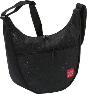 Manhattan Portage Midnight Nolita Shoulder Bag Black - Manhattan Portage Fabric Handbags