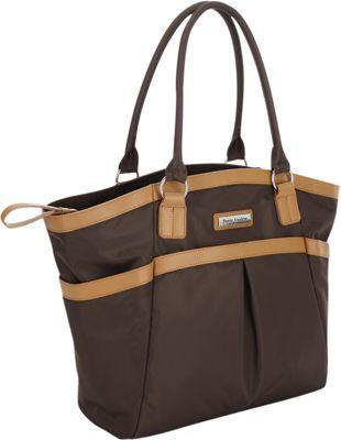 Perry Mackin Harper Tote Diaper Bag Brown - Perry Mackin Diaper Bags & Accessories