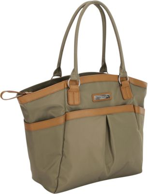 Perry Mackin Harper Tote Diaper Bag Olive - Perry Mackin Diaper Bags & Accessories