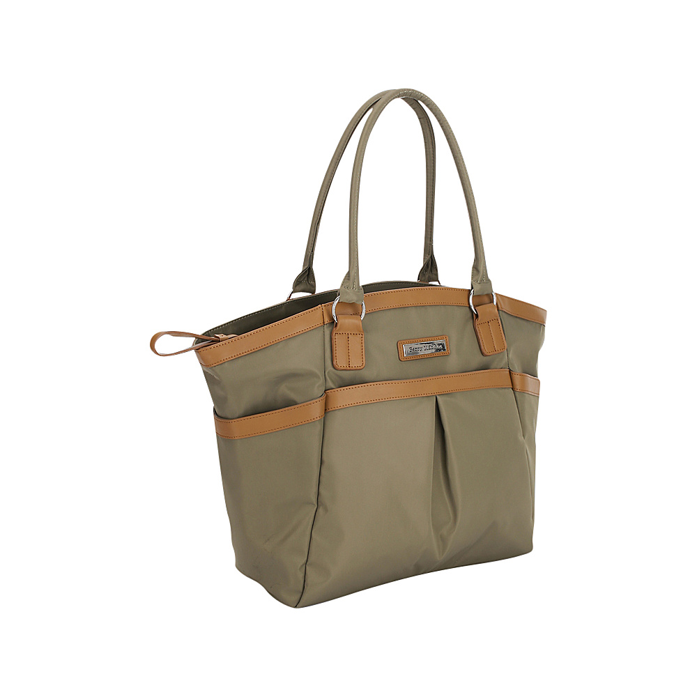 Perry Mackin Harper Tote Diaper Bag Olive Perry Mackin Diaper Bags Accessories