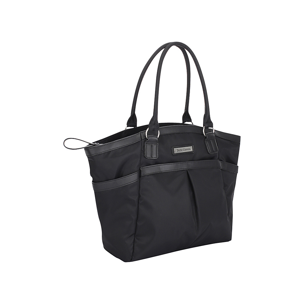 Perry Mackin Harper Tote Diaper Bag Black Perry Mackin Diaper Bags Accessories