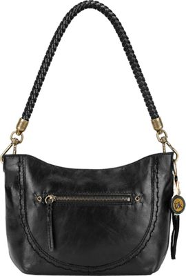 The Sak Indio Leather Demi Shoulder Bag Black - The Sak Leather Handbags