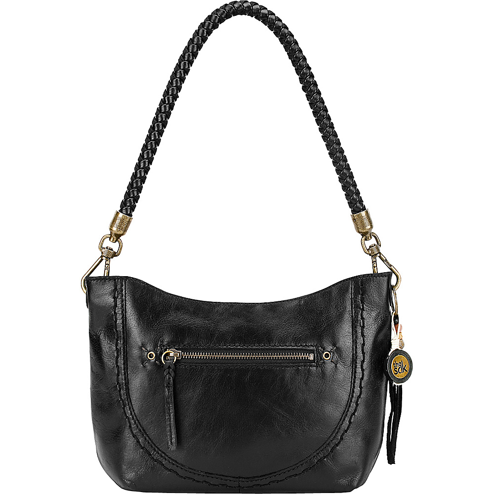 The Sak Indio Leather Demi Shoulder Bag Black The Sak Leather Handbags