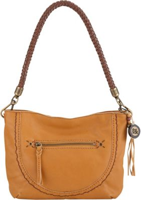 The Sak Indio Leather Demi Shoulder Bag Ochre - The Sak Leather Handbags