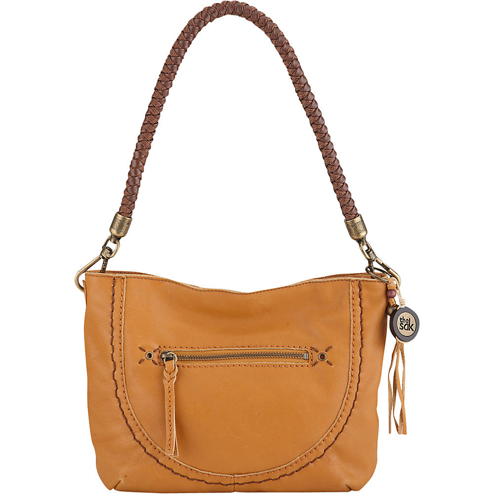 The Sak Indio Leather Demi Shoulder Bag Ochre The Sak Leather Handbags