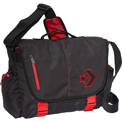 Converse Rush Delivery Messenger Phantom Black - Converse Messenger Bags