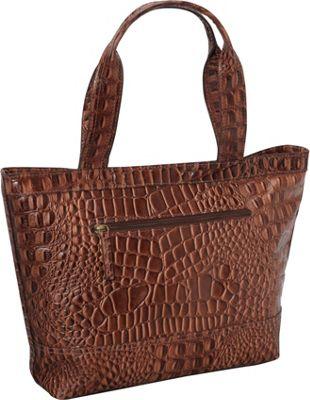 R & R Collections Top Zip Tote Handbag