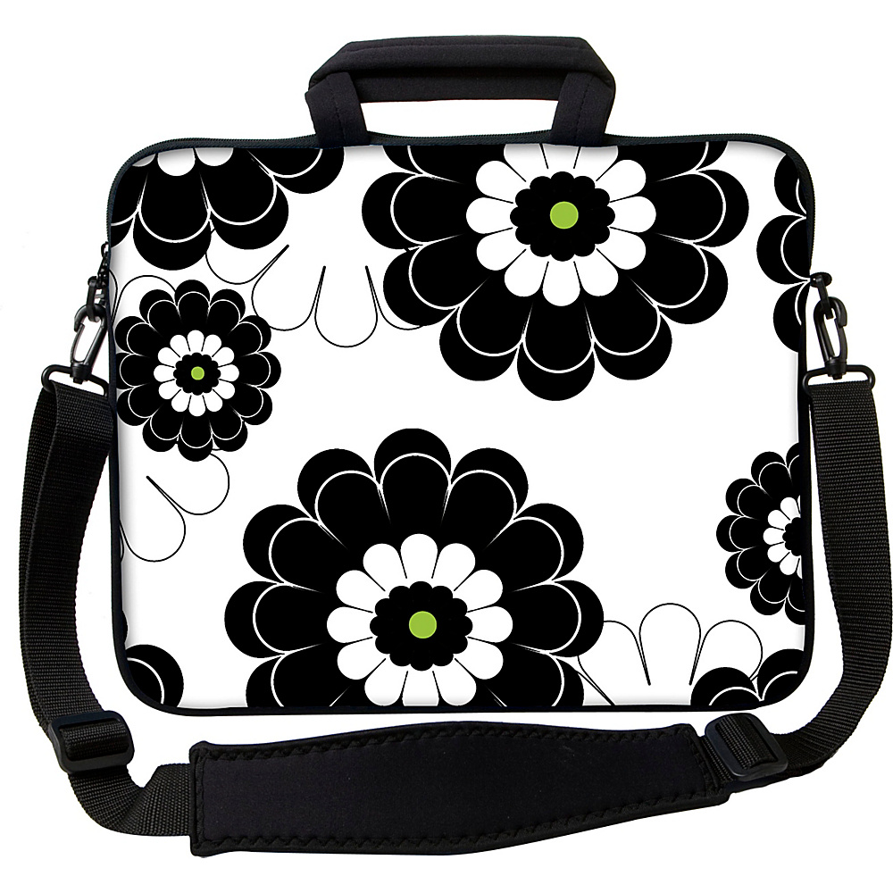 Designer Sleeves 13 Executive Laptop Sleeve by Got Skins? Designer Sleeves Black Lime Floral Designer Sleeves Electronic Cases