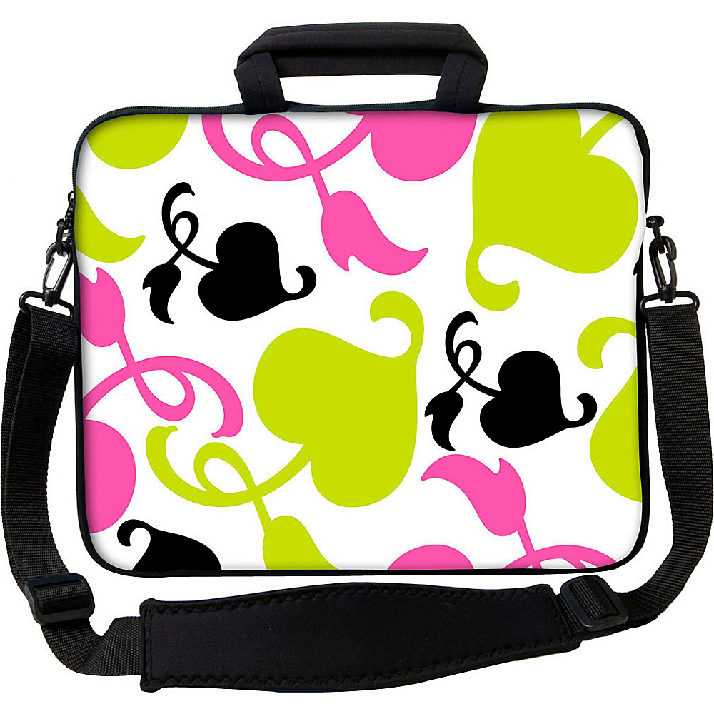 Designer Sleeves 13 Executive Laptop Sleeve by Got Skins? Designer Sleeves Spring Pink and Lime Designer Sleeves Electronic Cases