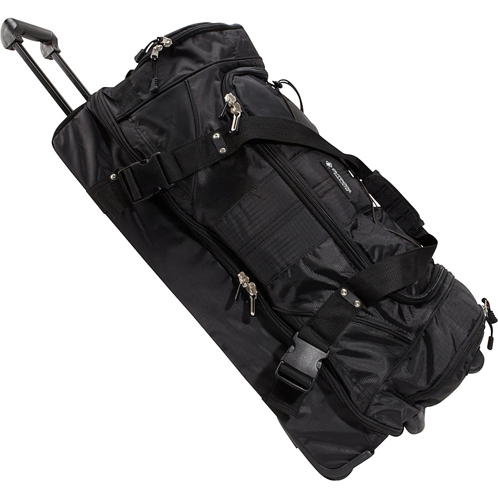 Outdoor Products Laguardia Travel Duffel Black Outdoor Products Outdoor Duffels