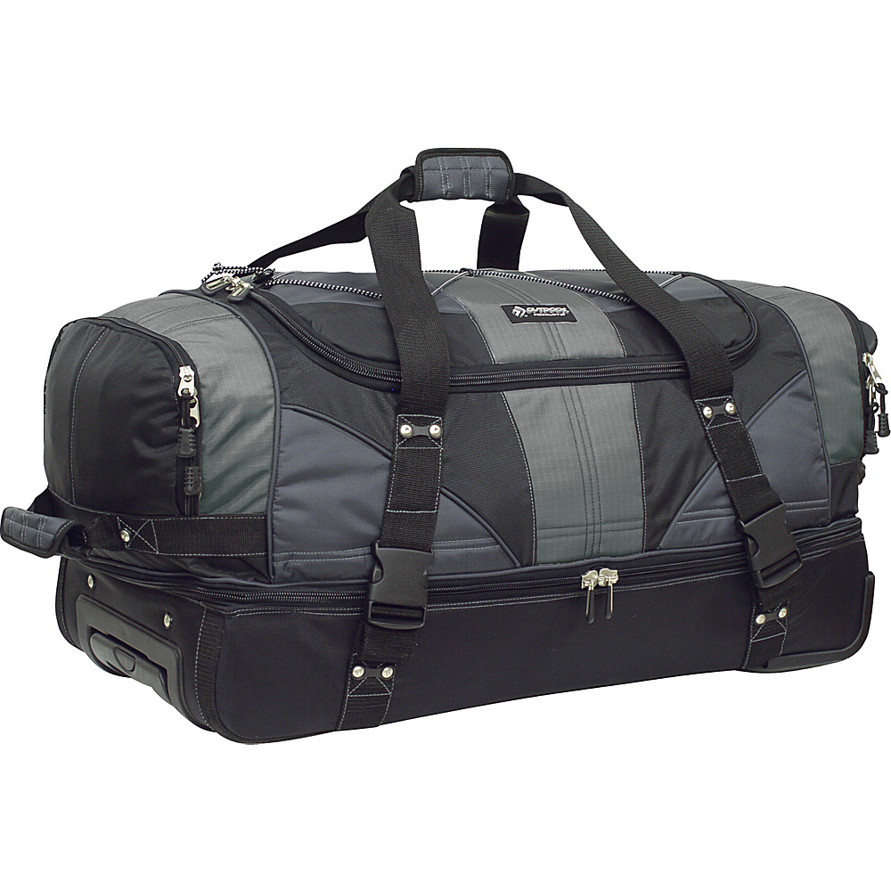 Outdoor Products Laguardia Travel Duffel Graphite Outdoor Products Outdoor Duffels