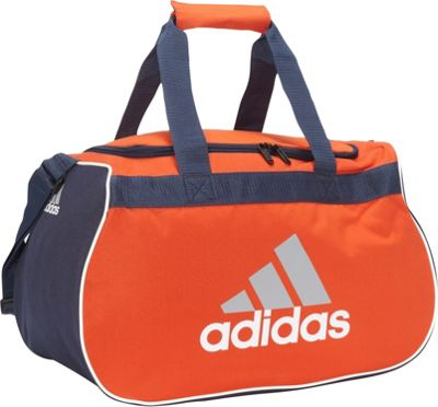 adidas Diablo Small Duffel Limited Edition Colors High Energy/Collegiate Navy - adidas All Purpose Duffels