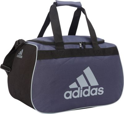 adidas Diablo Small Duffel Limited Edition Colors Urban Sky/Black - adidas All Purpose Duffels