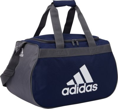 adidas Diablo Small Duffel Limited Edition Colors- Exclusive Dark Blue / Onix / White - adidas Gym Duffels 10505804