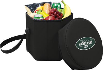 Picnic Time New York Jets Bongo Cooler New York Jets Black - Picnic Time Outdoor Coolers 10217843