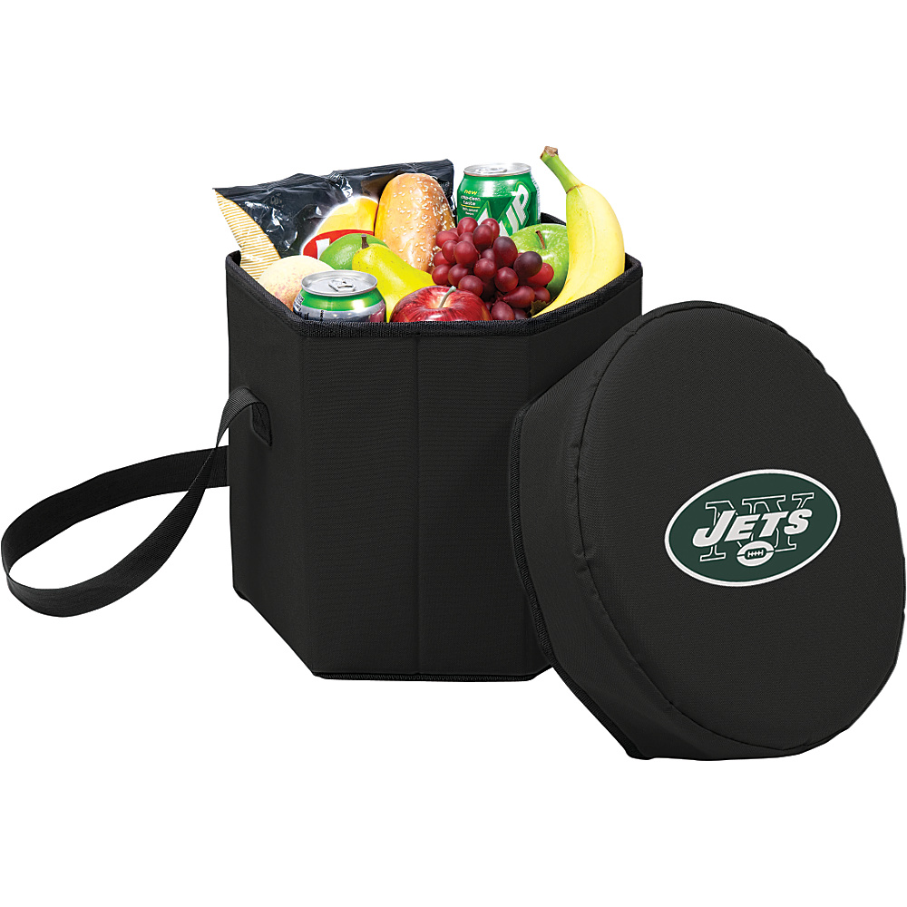 Picnic Time New York Jets Bongo Cooler New York Jets Black - Picnic Time Outdoor Coolers - Outdoor, Outdoor Coolers