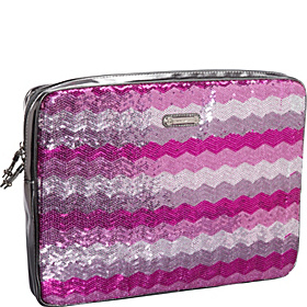Insta-Glam Laptop Sleeve Purple-Multi/Pewter