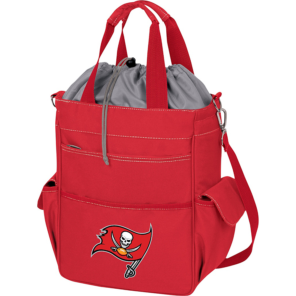 Picnic Time Tampa Bay Buccaneers Activo Cooler Tampa Bay Buccaneers Red - Picnic Time Outdoor Coolers - Outdoor, Outdoor Coolers