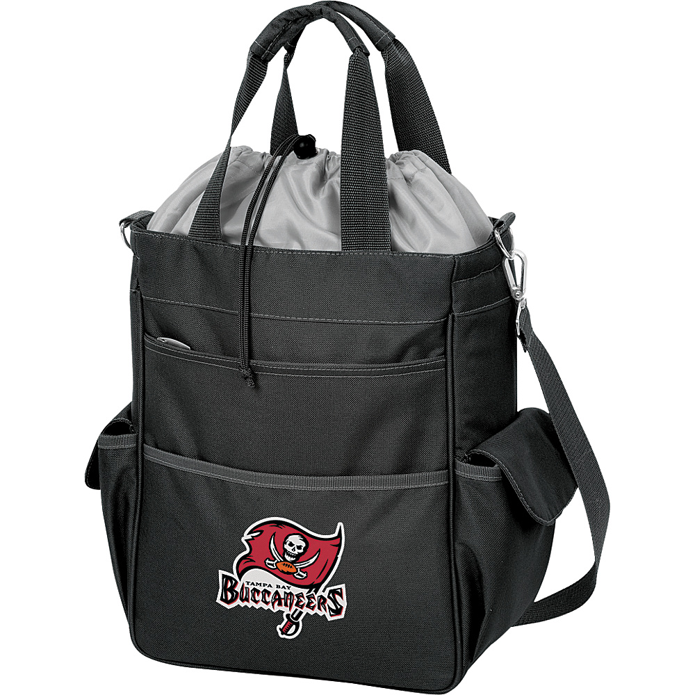 Picnic Time Tampa Bay Buccaneers Activo Cooler Tampa Bay Buccaneers Black - Picnic Time Outdoor Coolers - Outdoor, Outdoor Coolers