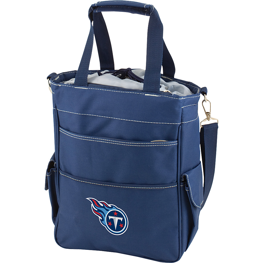 Picnic Time Tennessee Titans Activo Cooler Tennessee Titans Navy - Picnic Time Outdoor Coolers - Outdoor, Outdoor Coolers