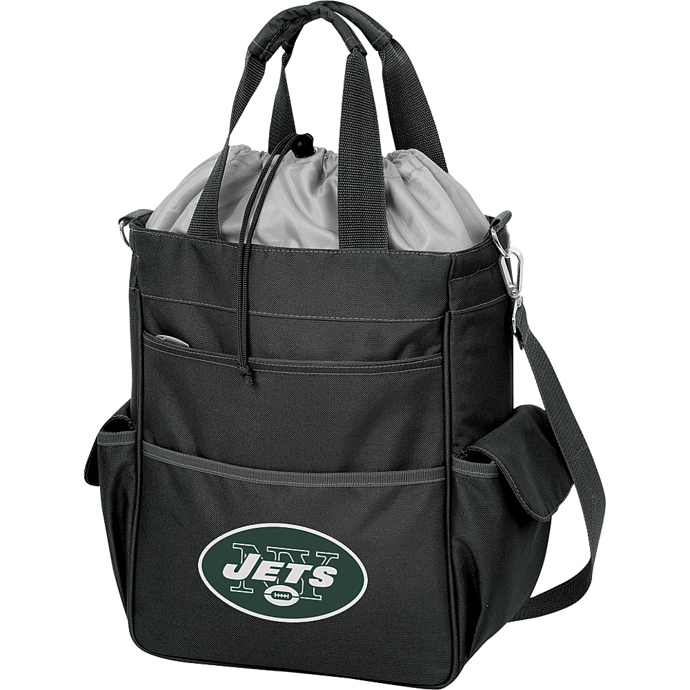 Picnic Time New York Jets Activo Cooler New York Jets Black - Picnic Time Outdoor Coolers - Outdoor, Outdoor Coolers