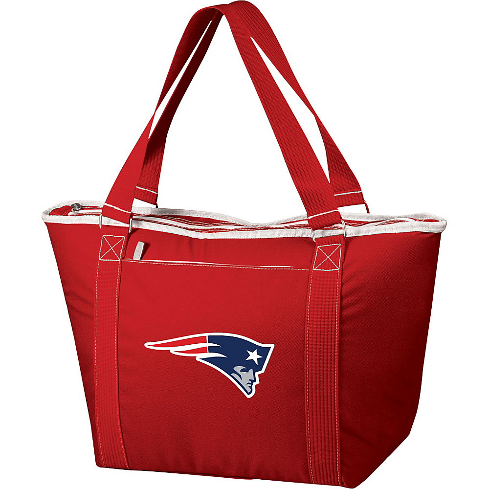 Picnic Time New England Patriots Topanga Cooler New England Patriots Red - Picnic Time Outdoor Coolers - Outdoor, Outdoor Coolers